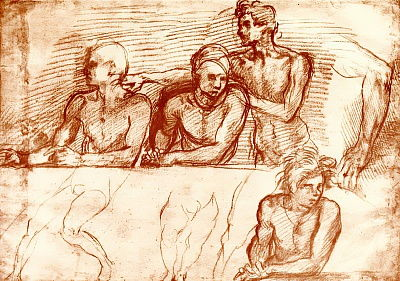 Studies for the Last Supper