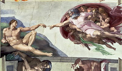 Michelangelo Buonarroti Lamentation Recto C 1530 Canvas Art Print Poster
