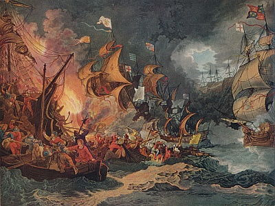 Battle of the First of June Painting by Philip James Loutherbourg ...