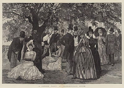 A Garden Party at Marlborough House