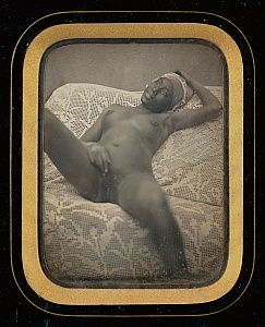 Unknown maker, French - Nude Study of a Black Female