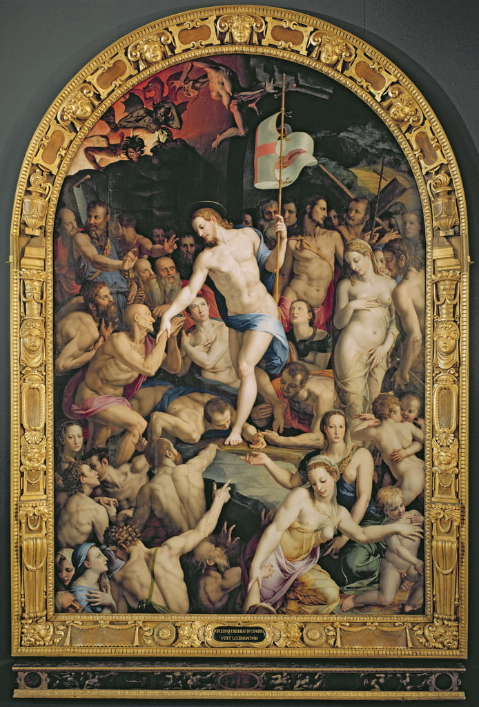 Christ in Limbo, 1552  by Agnolo Bronzino