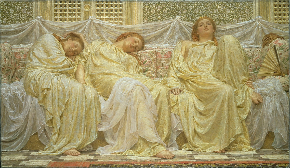 Dreamers by Albert Joseph Moore