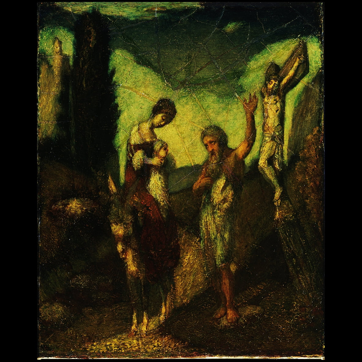The Story of the Cross by Albert Pinkham Ryder
