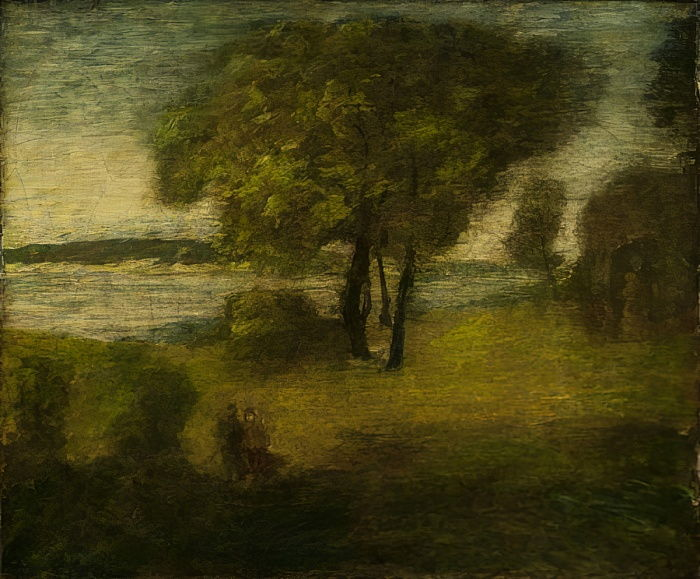 The River, c.1890  by Albert Pinkham Ryder
