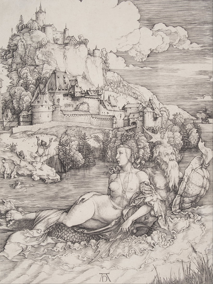 The Sea Monster by Albrecht Dürer