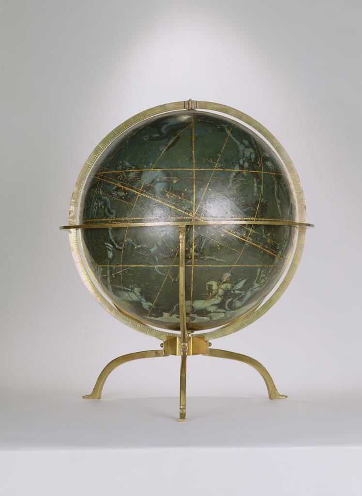 Celestial Globe, one of a pair known as the