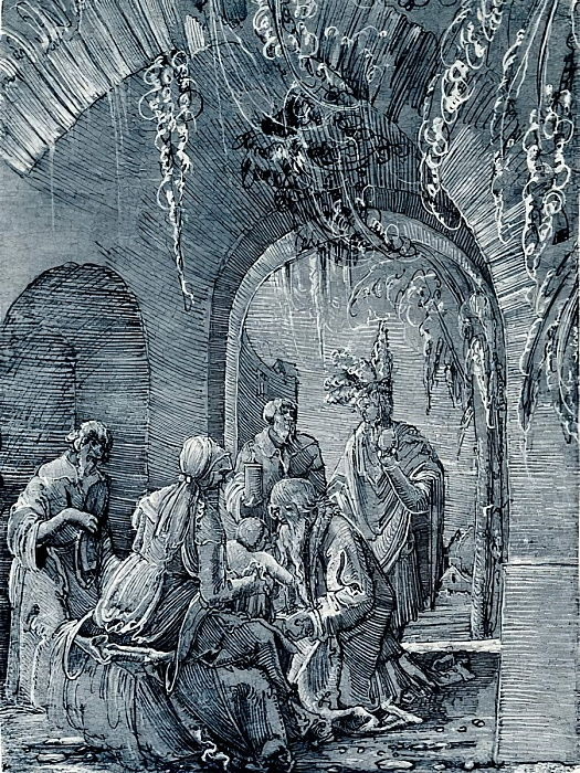 Adoration of the Magi by Albrecht Altdorfer