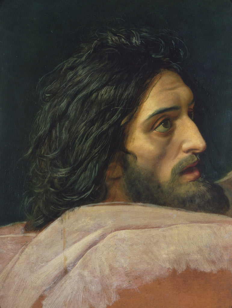 The Head of John the Baptist by Aleksander Ivanov