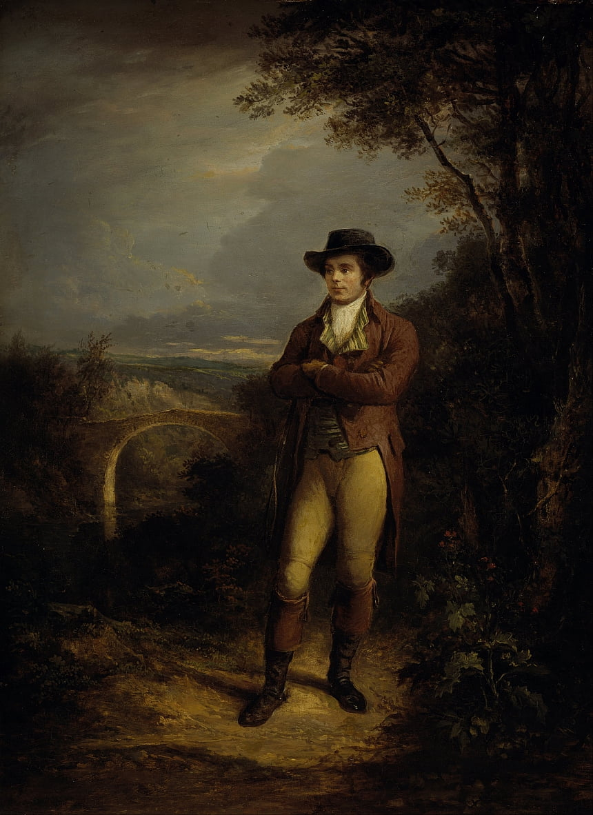 Robert Burns, 1759 by Alexander Nasmyth
