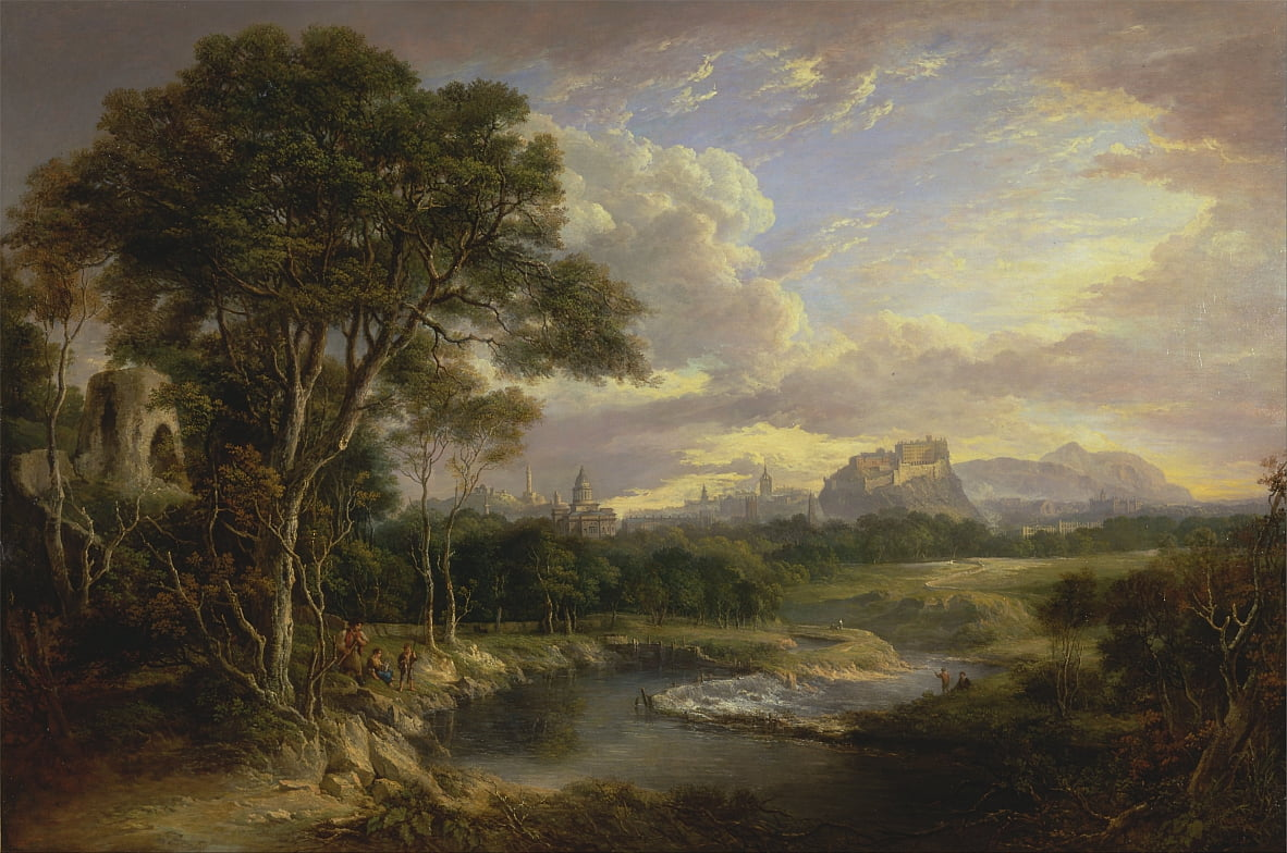 View of the City of Edinburgh by Alexander Nasmyth