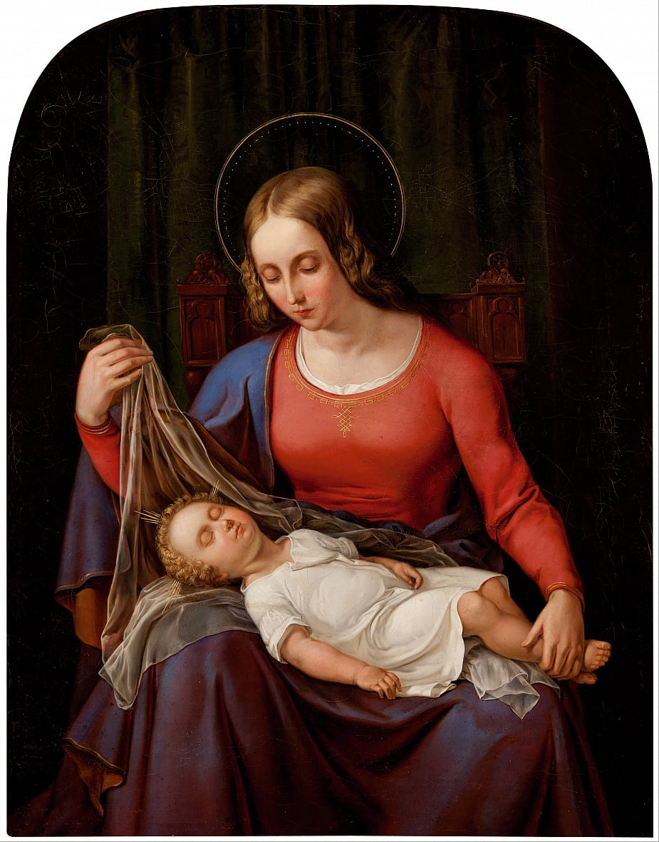 Madonna and Child by Alexander Schramm