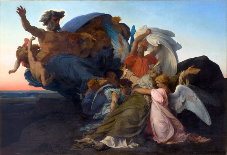 Death of Moses by Alexandre Cabanel