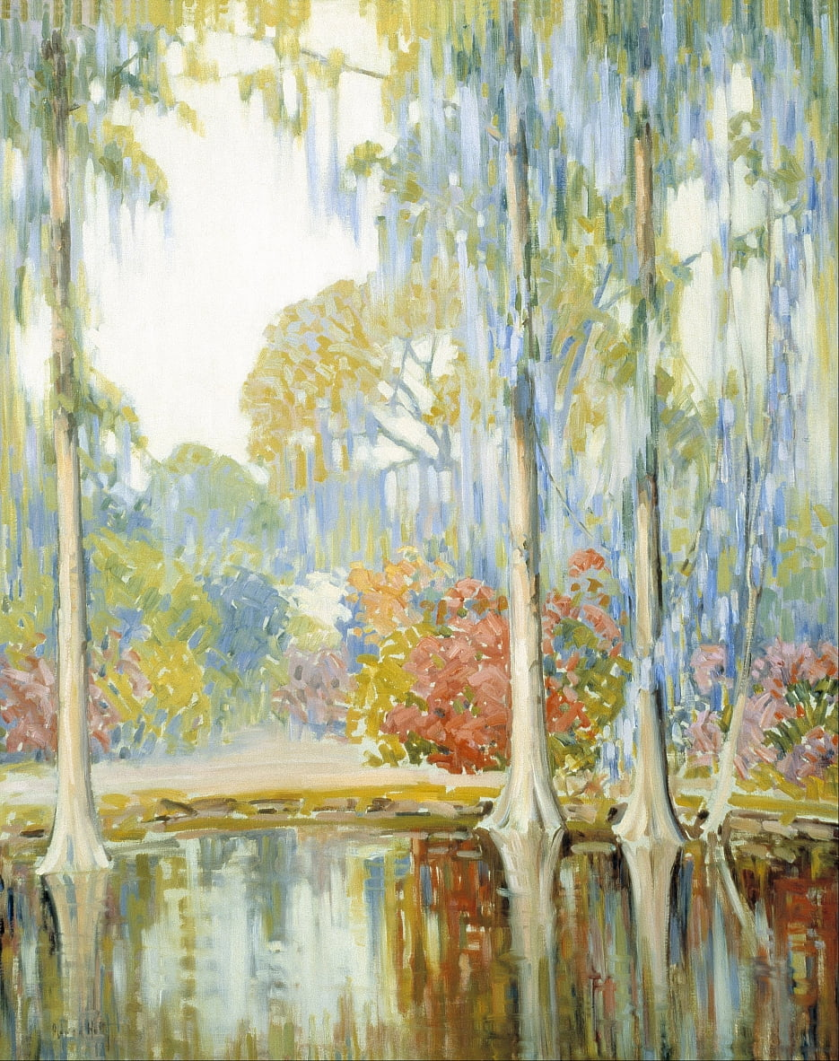 Magnolia Gardens by Alfred Hutty