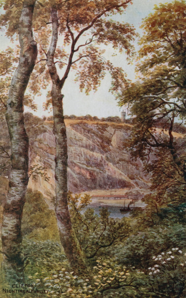 Clifton, Nightingale Valley  by Alfred Robert Quinton