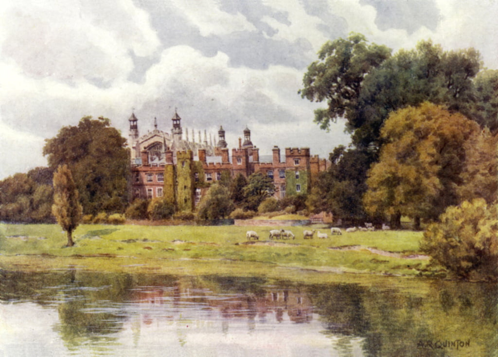 Eton College  by Alfred Robert Quinton