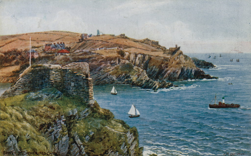 Fowey, St Catherines Castle  by Alfred Robert Quinton
