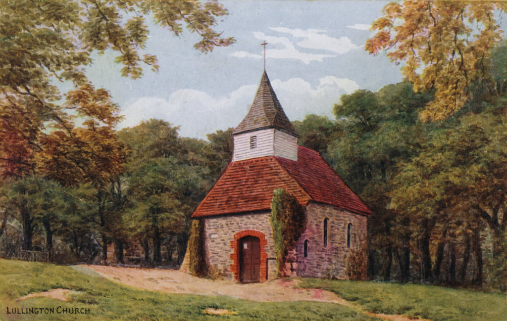 Lullington Church  by Alfred Robert Quinton