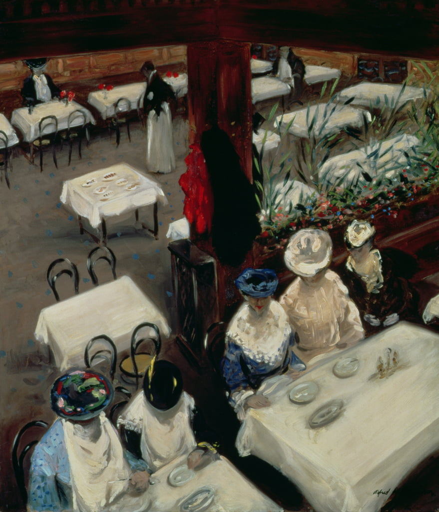 In a Cafe, 1905  by Alfred Henry Maurer
