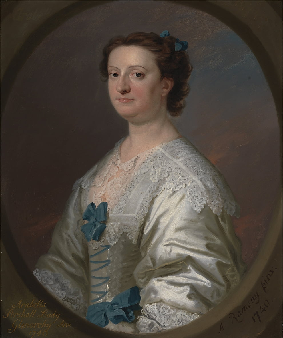 Arabella Pershall, Lady Glenorchy by Allan Ramsay