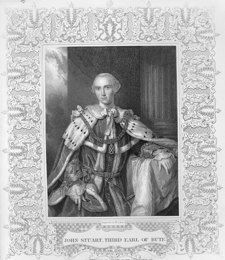 John Stuart, Third Earl of Bute, engraved by W.T. Mote, 1792  by Allan Ramsay