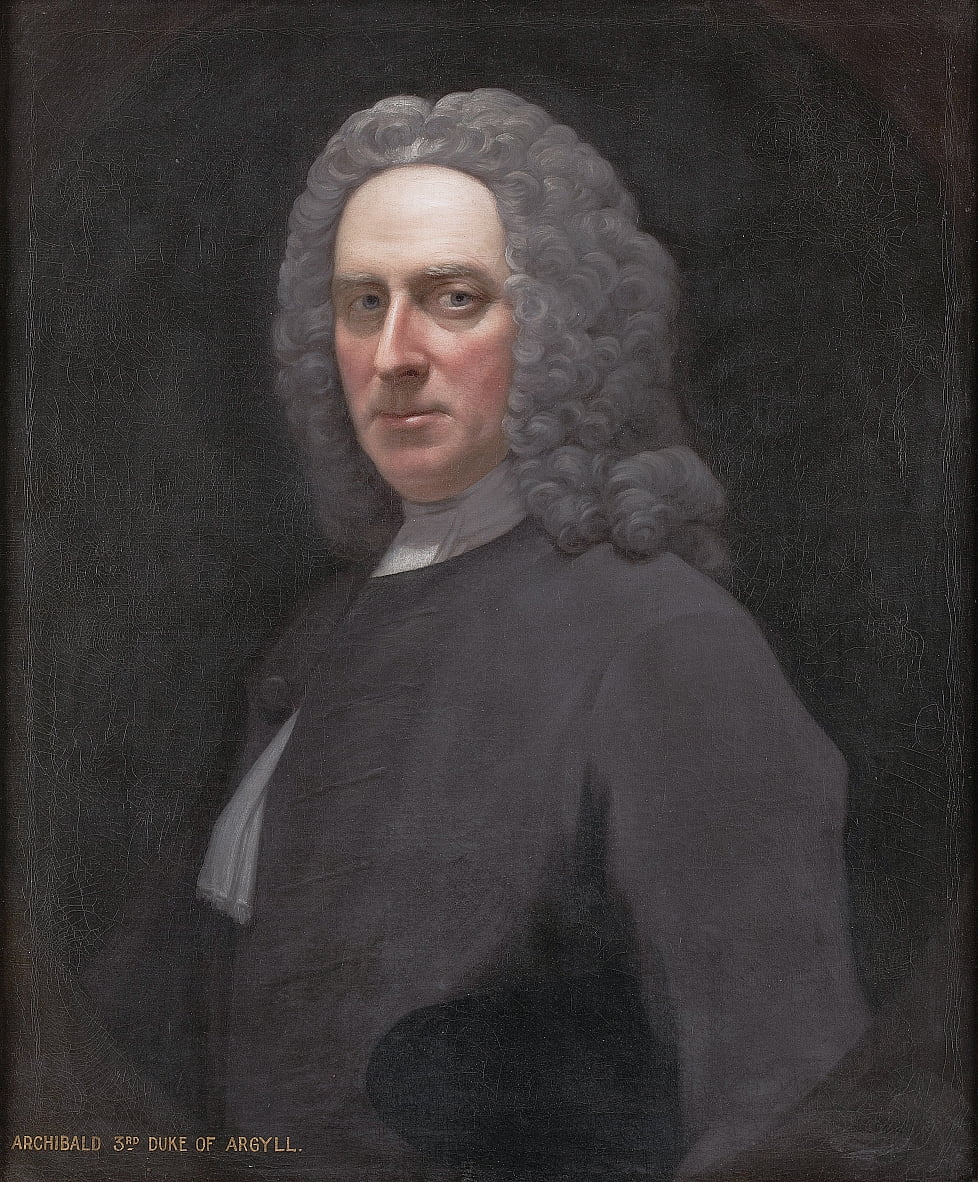 Portrait of Archibald Campbell, 3rd Duke of Argyll by Allan Ramsay by Allan Ramsay