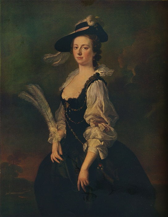 Portrait of Jane Hale, Mrs Madan, 1746 by Allan Ramsay