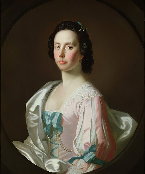 Portrait of Julia Musgrave  by Allan Ramsay