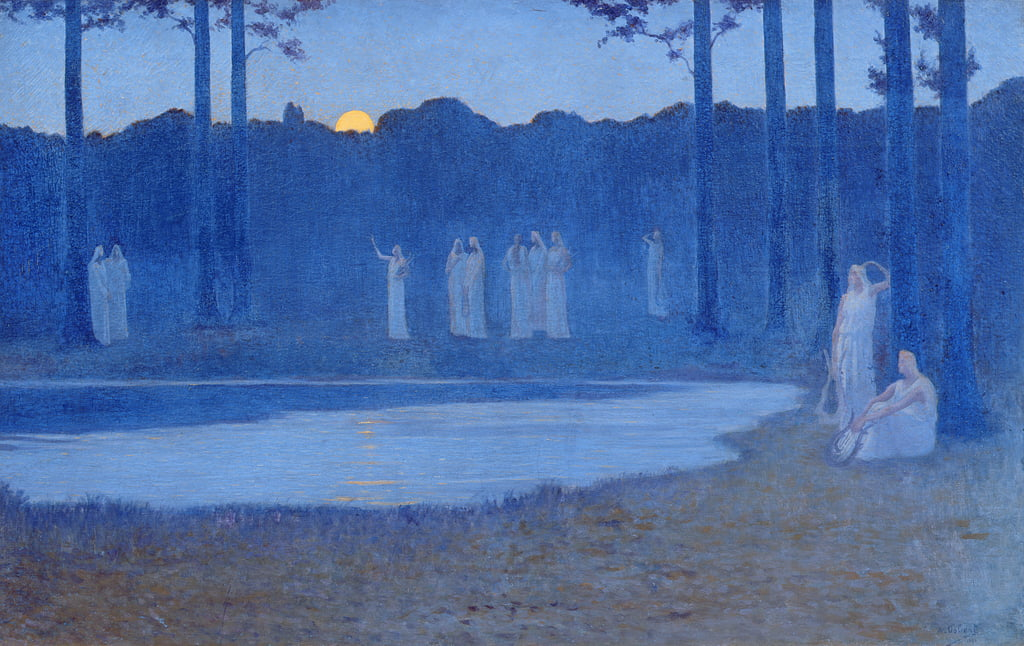 The Songs of the Night by Alphonse Osbert