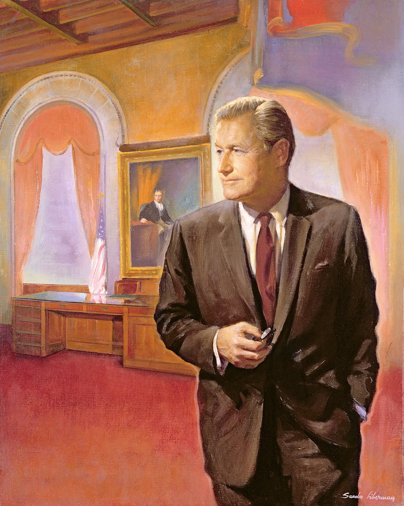 Governor Nelson A. Rockefeller (1908-79)  by American School
