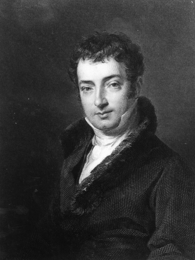 Washington Irving (1783-1859)   by American School