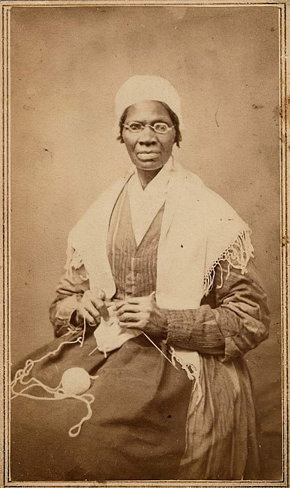 Carte de visite of Sojourner Truth, 1864  by American Photographer