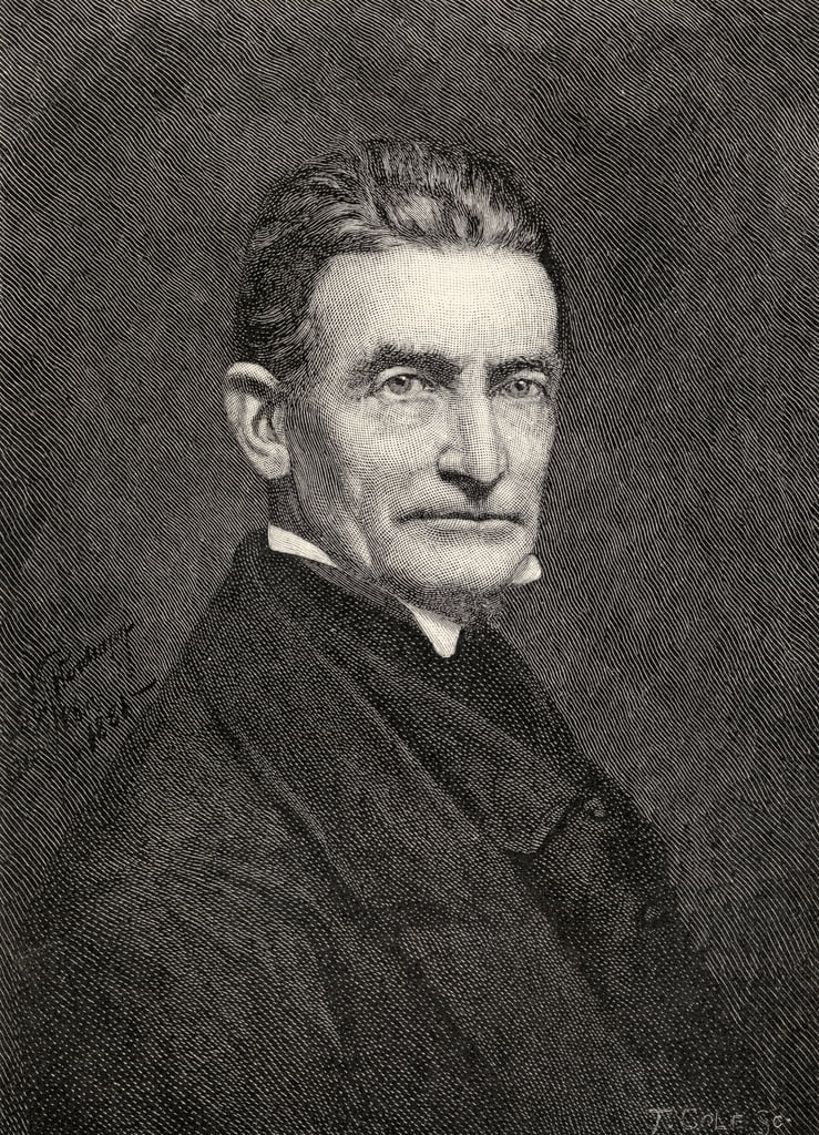 Portrait of John Brown, from