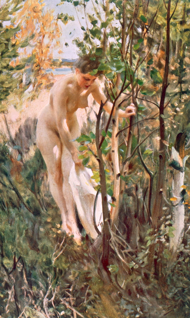 Eve  by Anders Leonard Zorn