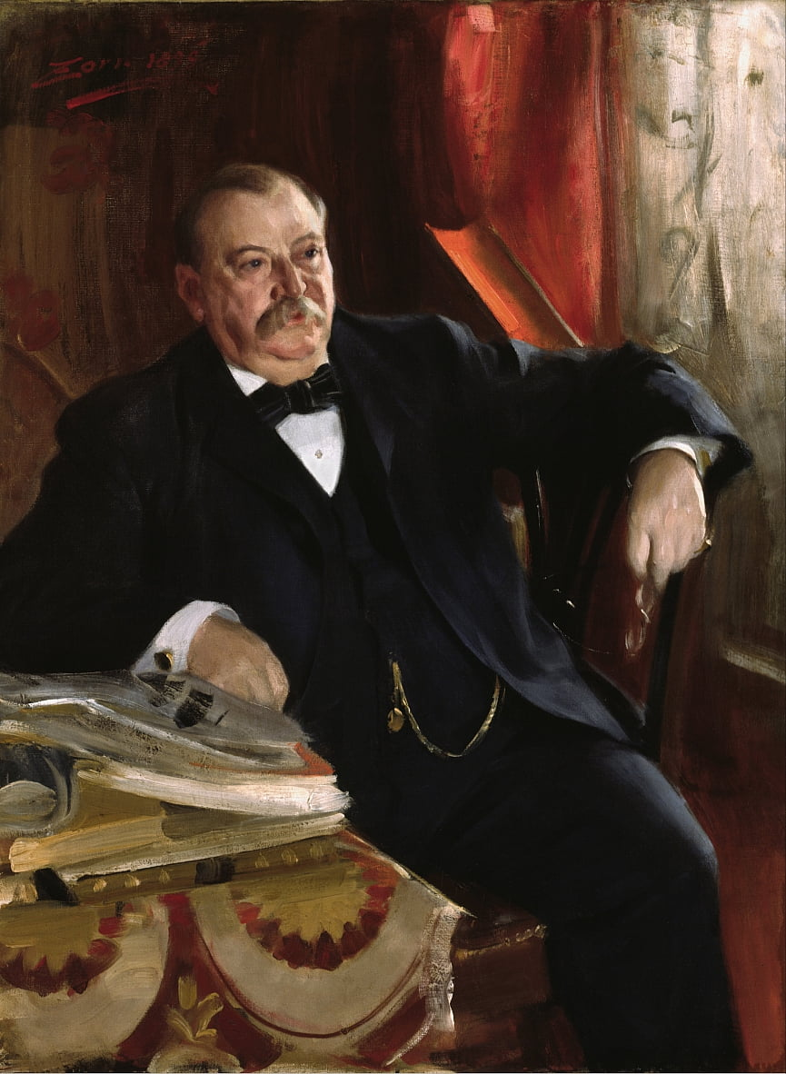 Grover Cleveland by Anders Leonard Zorn
