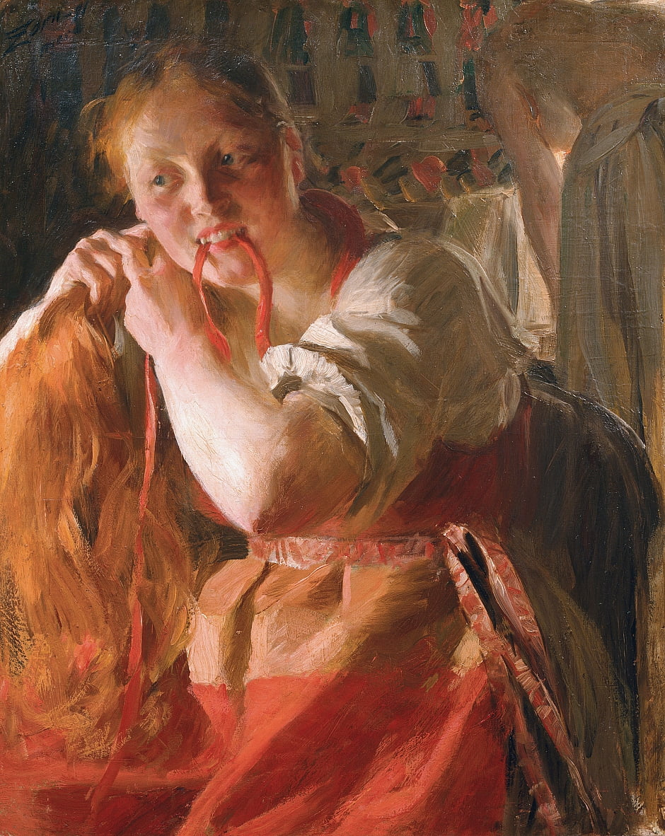 Margit by Anders Leonard Zorn