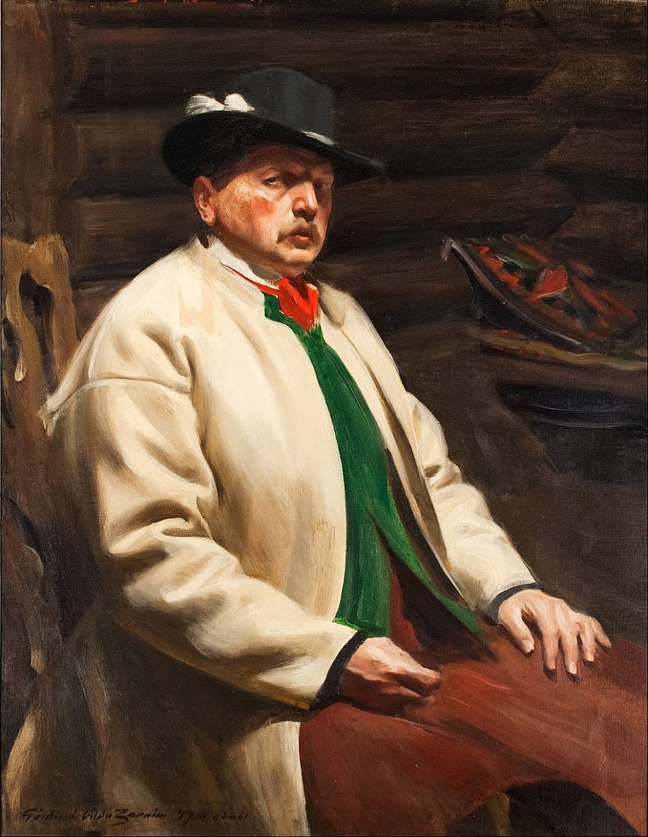 Self-Portrait by Anders Leonard Zorn