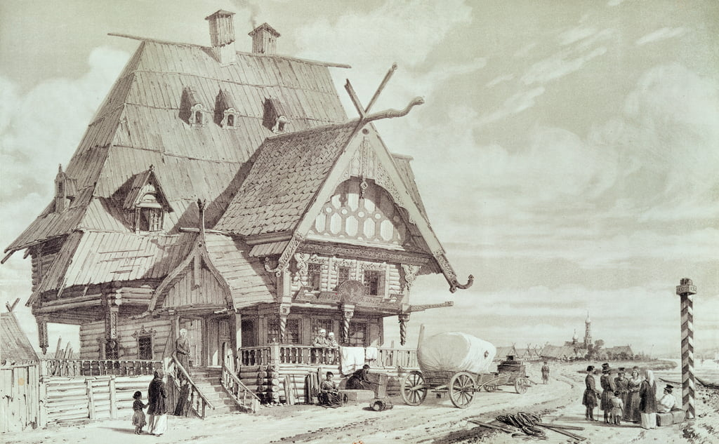 Hotels and Guest Houses, illustration from