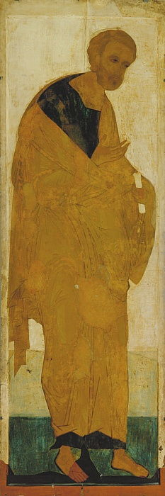The Apostle Peter From the Deesis Range, ca 1408 by Andrei Rublev