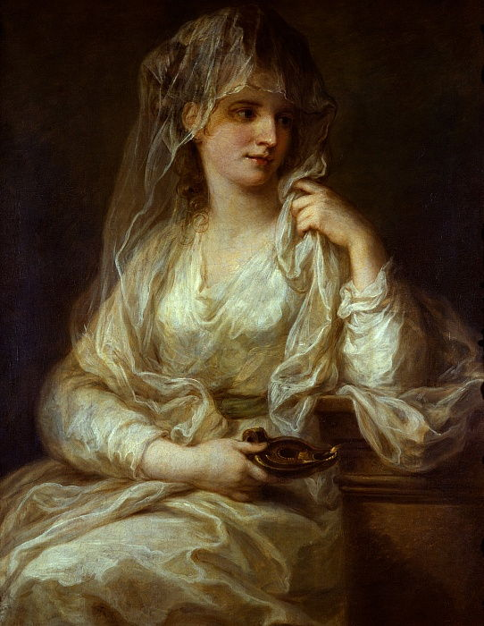 Portrait of a Lady as a Vestal Virgin, 1782 by Angelica Kauffmann