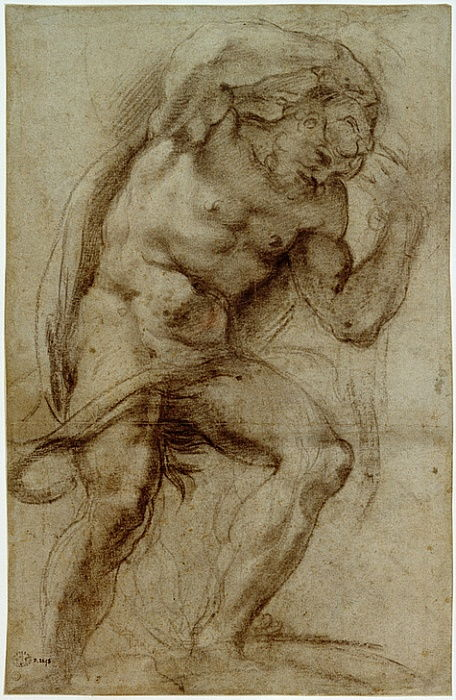 Herkules by Annibale Carracci