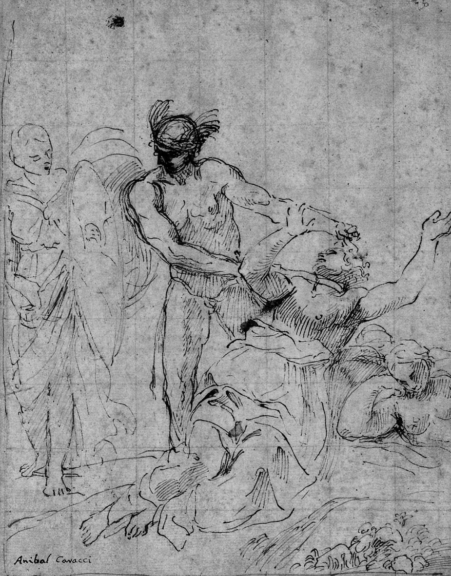 Perseus killing Medusa by Annibale Carracci
