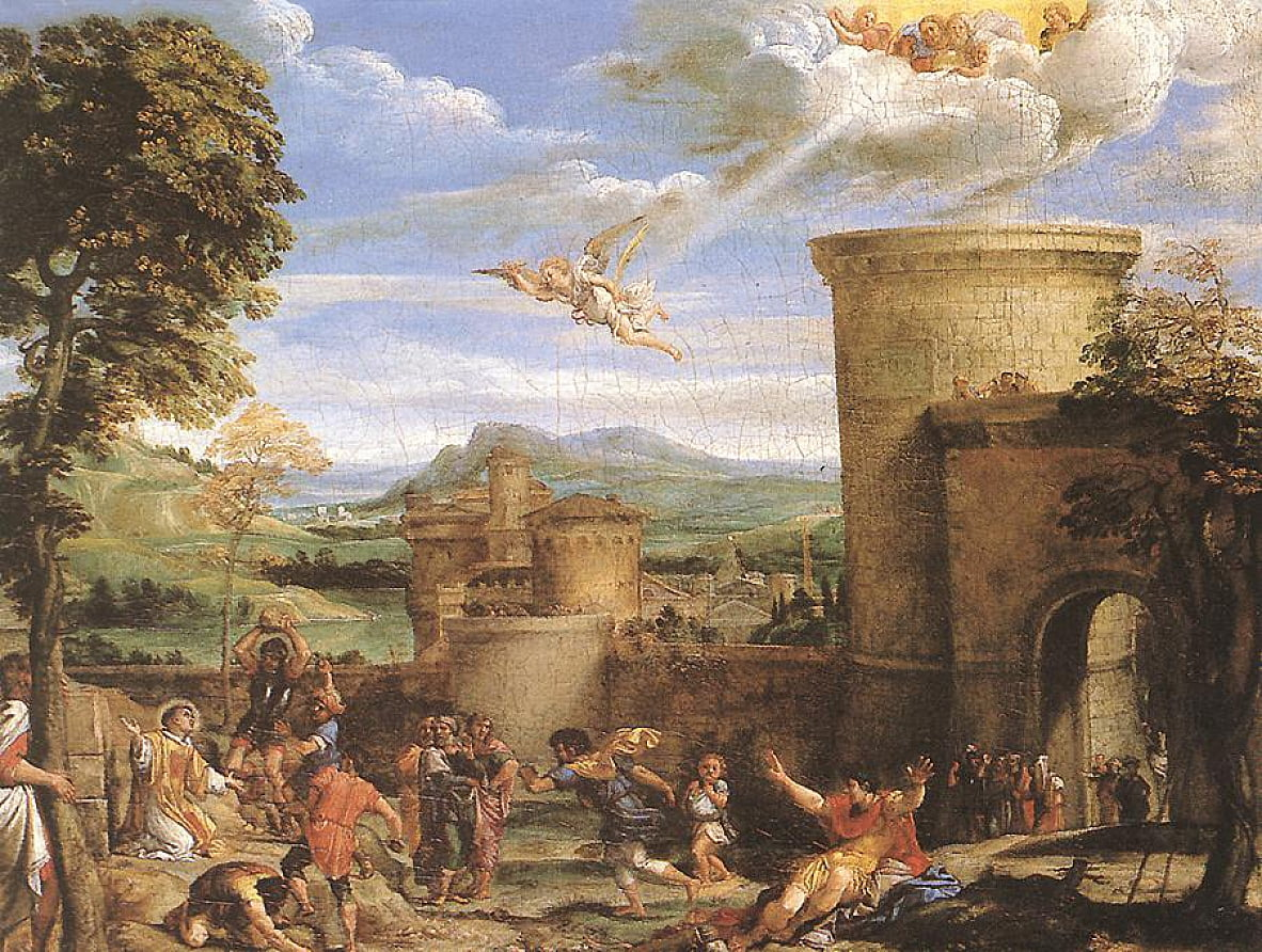 The Martyrdom of St Stephen by Annibale Carracci