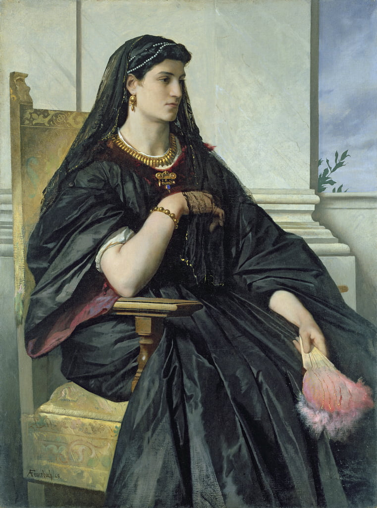 Bianca Capello by Anselm Feuerbach