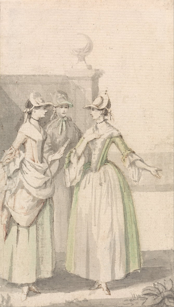 Group of Three Ladies by Anthony Highmore