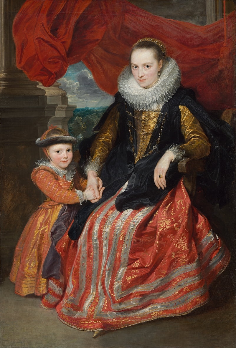 Susanna Fourment and Her Daughter by Anthony van Dyck