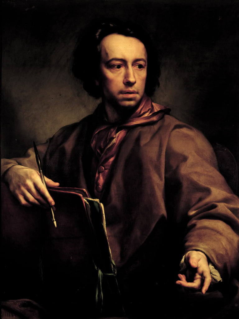 Self Portrait, 1773  by Anton Raphael Mengs
