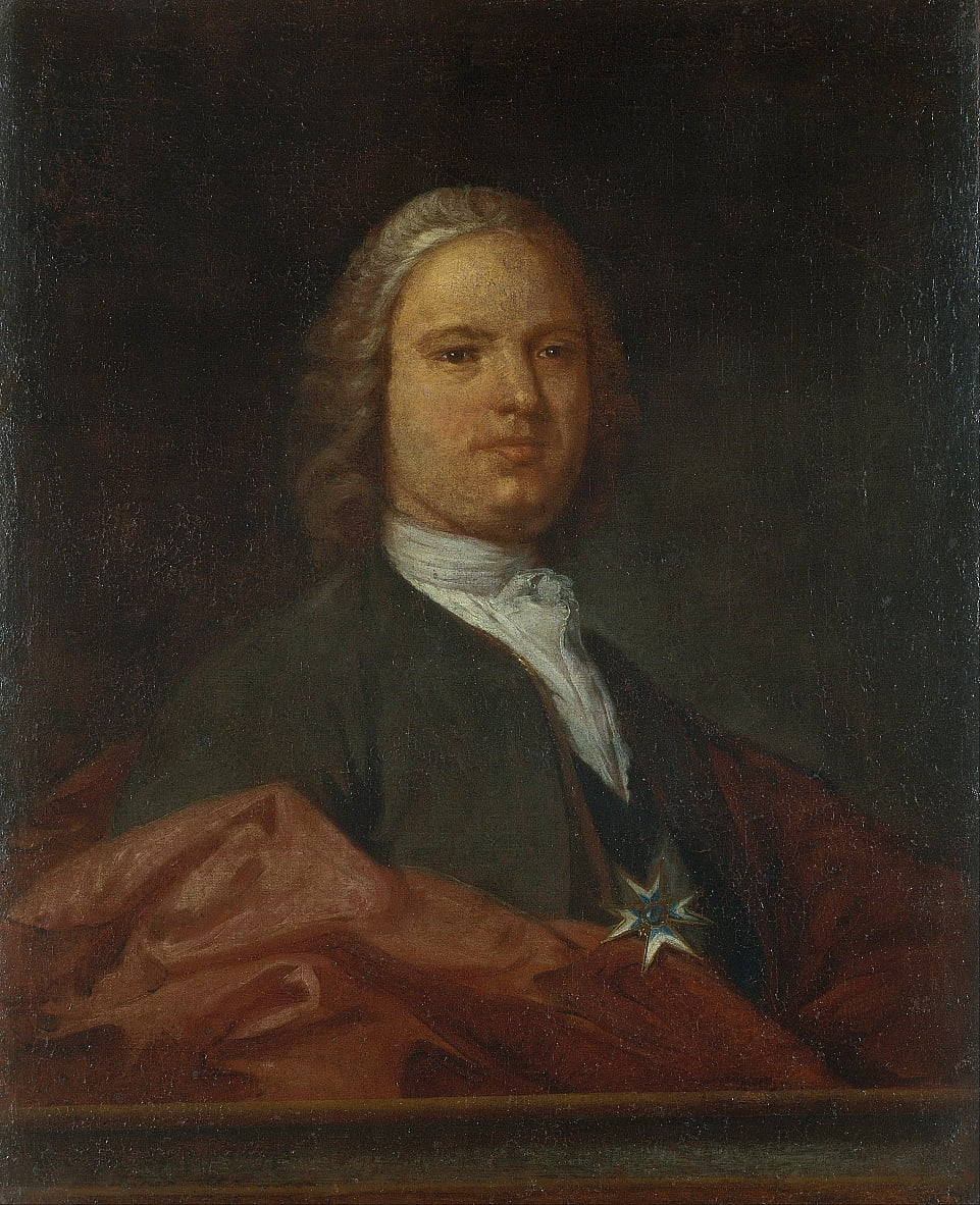 Portrait of a Knight of the Order of Saint John by Antoni Viladomat