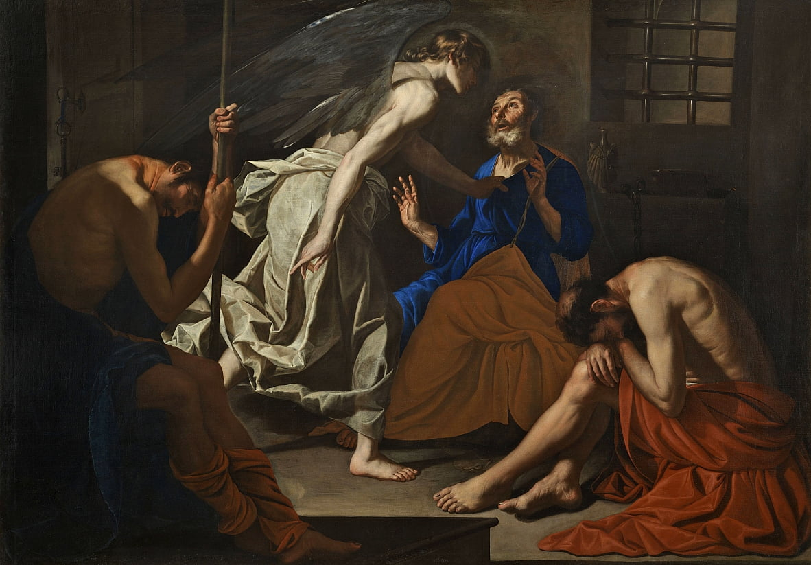 The Liberation of St. Peter by Antonio de Bellis