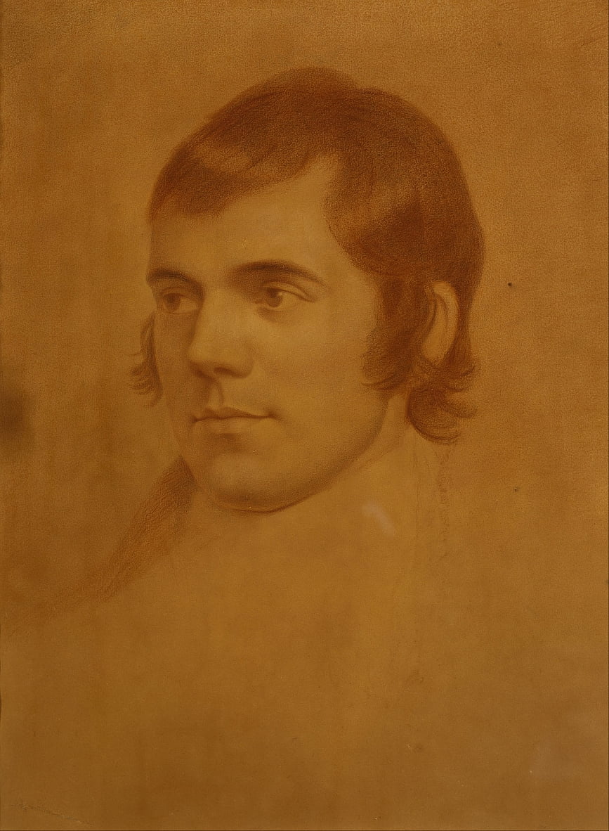 Robert Burns, 1759 by Archibald Skirving